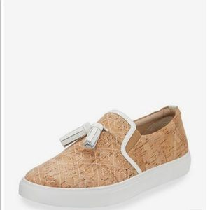 Donald J Pliner Sonora Cork Loafer with Tassel